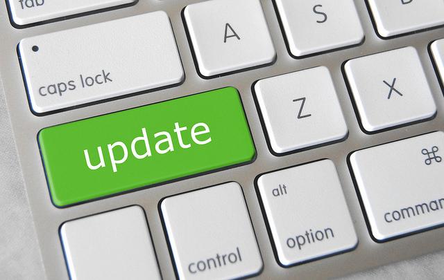 WordPress-uppdatering